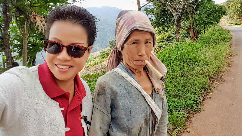 Akha Woman Chiang Rai