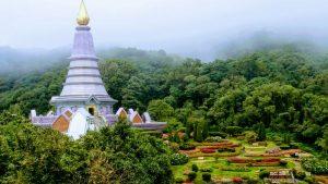 Doi Inthanon National Park - Royal Pagodas