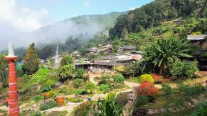 Doi Pui Hmong Village - View