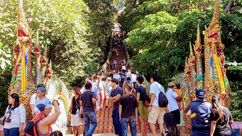 Doi Suthep Temple - Steps
