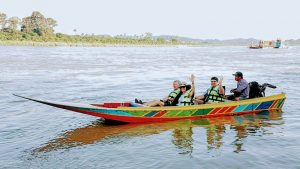 Golden Triangle - Boat trip on the Mekong River