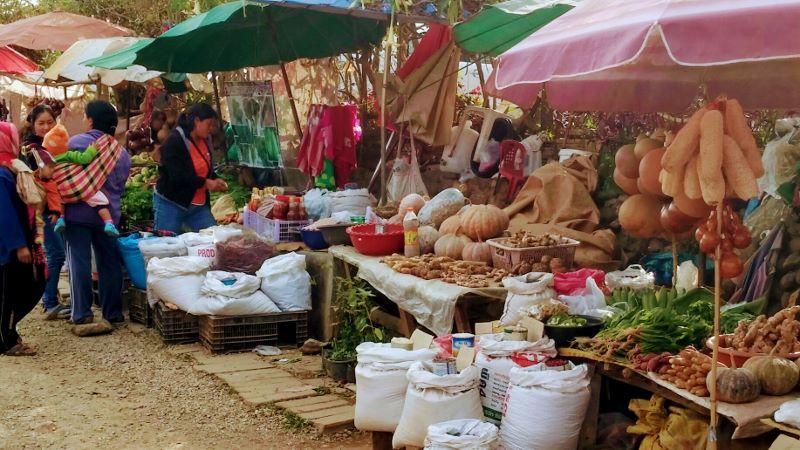 Mae Salong Chiang Rai- Market