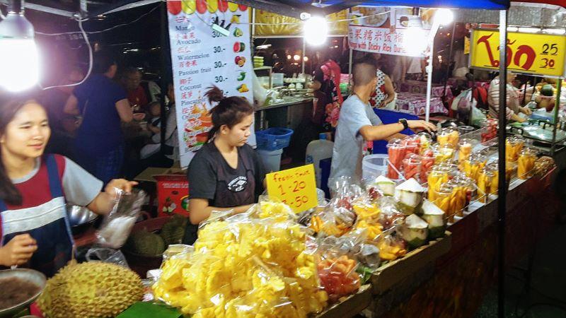 Chang Phuak Gate Night Food Market