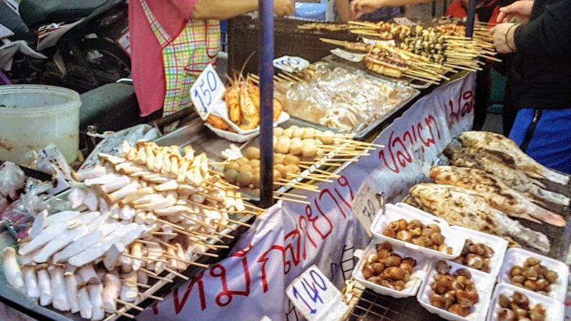Chiang Mai Gate Night Market Seafood