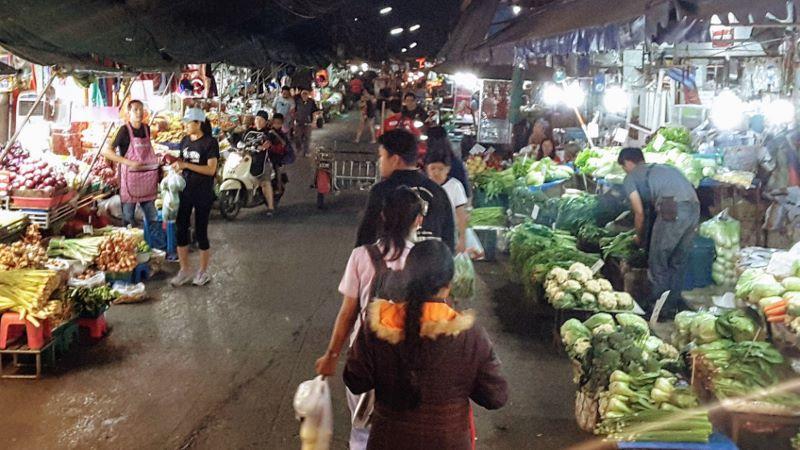 Chiang Mai Wholesale Market - Vegetables