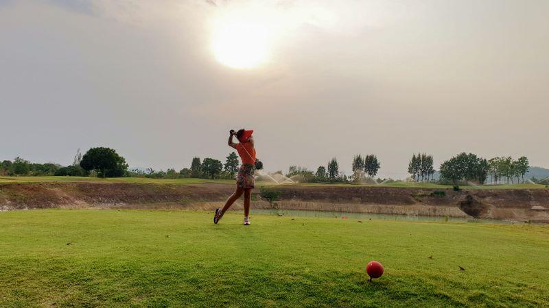 artitaya chiang mai golf resort - driving