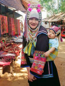 Akha Lady at Baan Tong Luang Chiang Mai