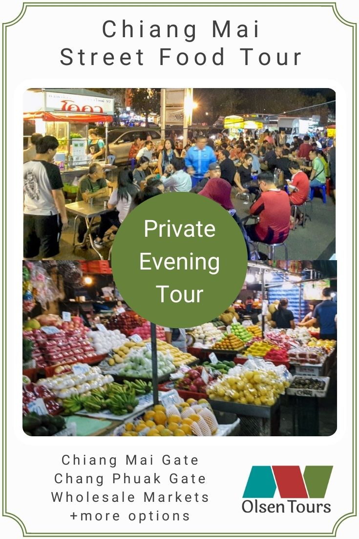 Chiang Mai Street Food: Private Evening Tour