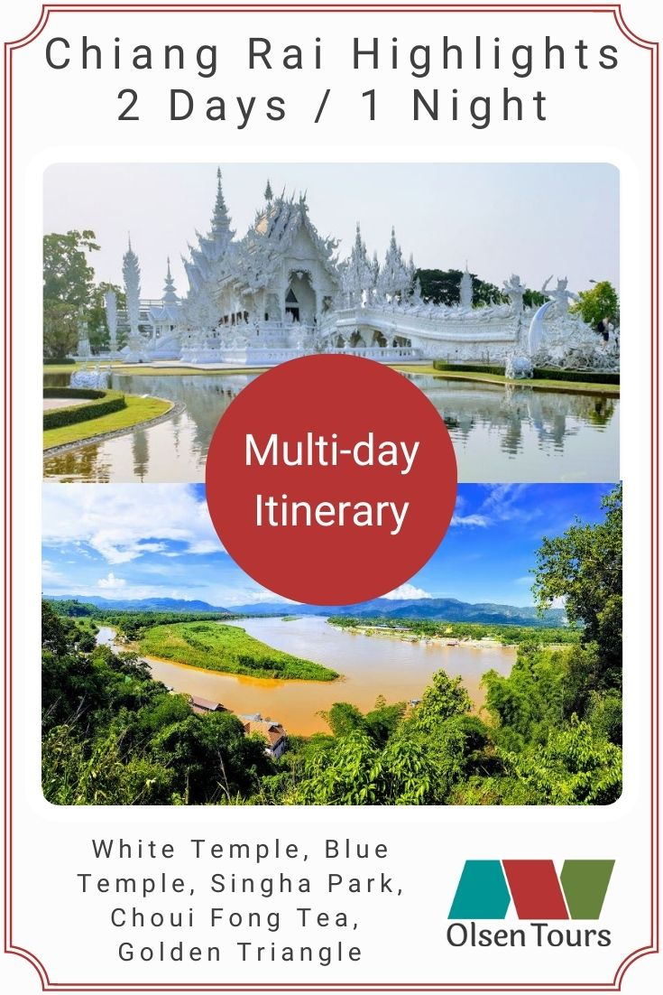 Chiang Rai Highlights Tour Itinerary
