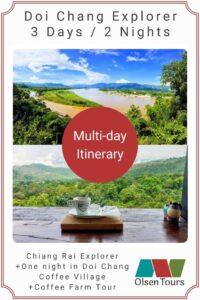 Doi Chang Explorer Tour Itinerary