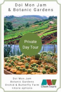 Doi Mon Jam & Queen Sirikit Botanic Gardens: Private Day Tour