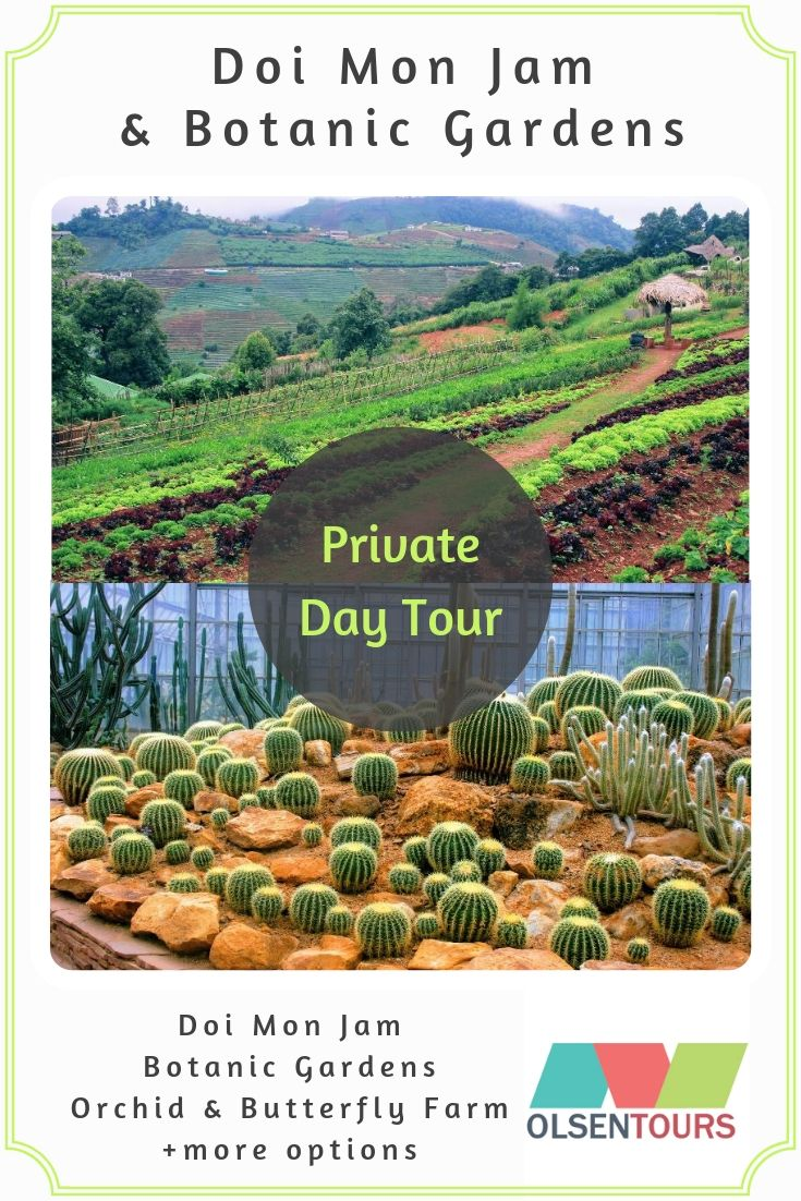 Doi Mon Jam & Queen Sirikit Botanic Gardens: Private Day Tour