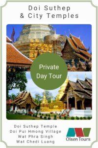 Doi Suthep & City Temples: Private Day Tour