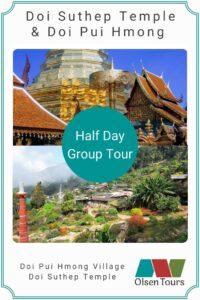 Doi Suthep & Doi Pui Hmong Village Group Tour