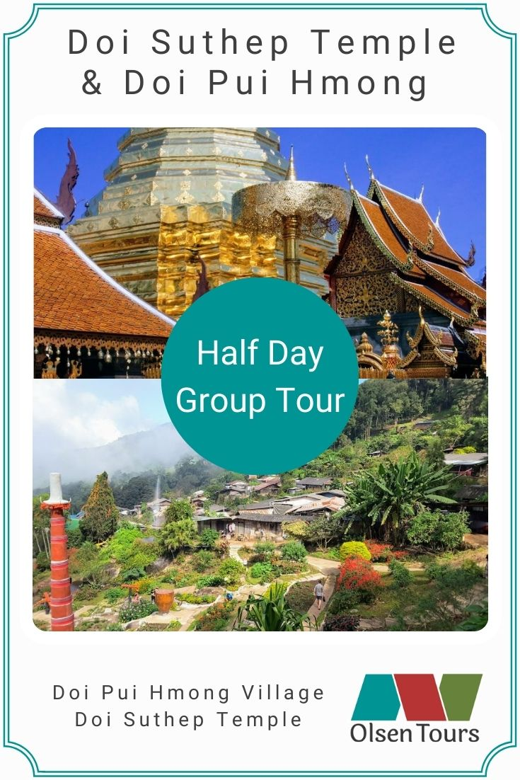 Doi Suthep & Doi Pui Hmong Village Group Tour