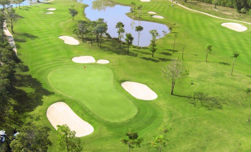 Gassan Legacy Golf Club - Aerial