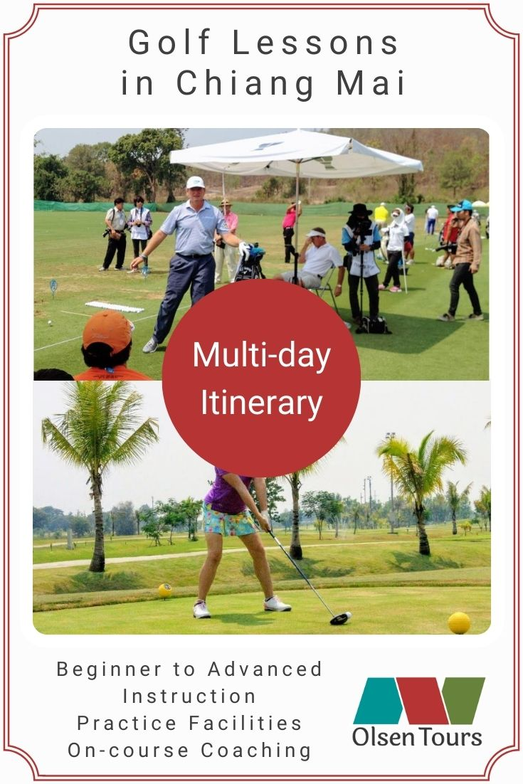 Golf Lessons in Chiang Mai Itinerary