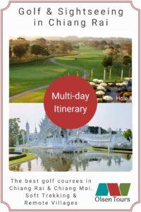 Golf & Sightseeing in Chiang Rai Itinerary
