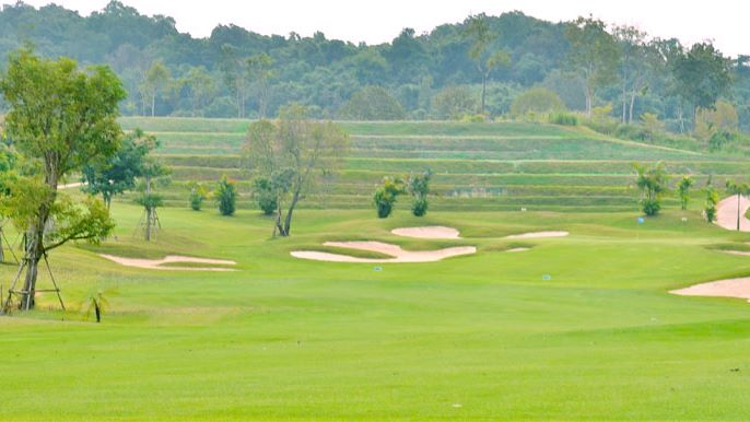 Happy City Golf Resort Chiang Rai - Bunkers