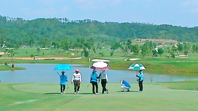 Caddies at Happy City Golf Resort Chiang Rai