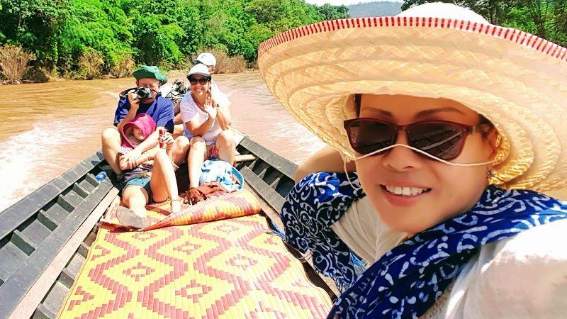 Boat Trip to Huay Pu Keng