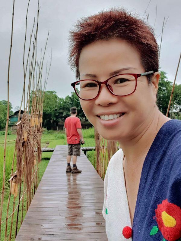 Boardwalk at Inspire Project (Kamlangjai) Chiang Rai