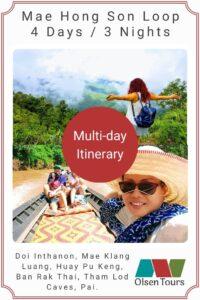Mae Hong Son Loop Itinerary