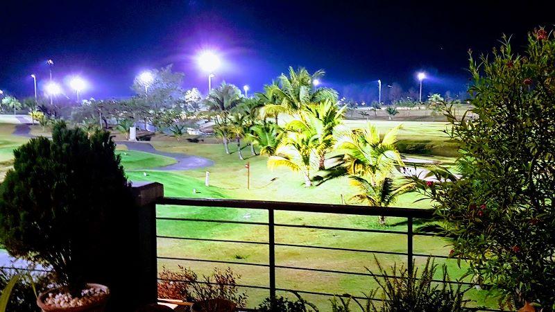 floodlights at north hill golf club