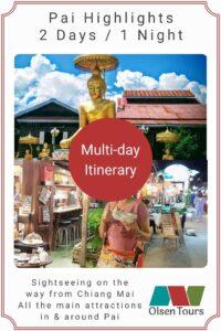 Pai Highlights Itinerary