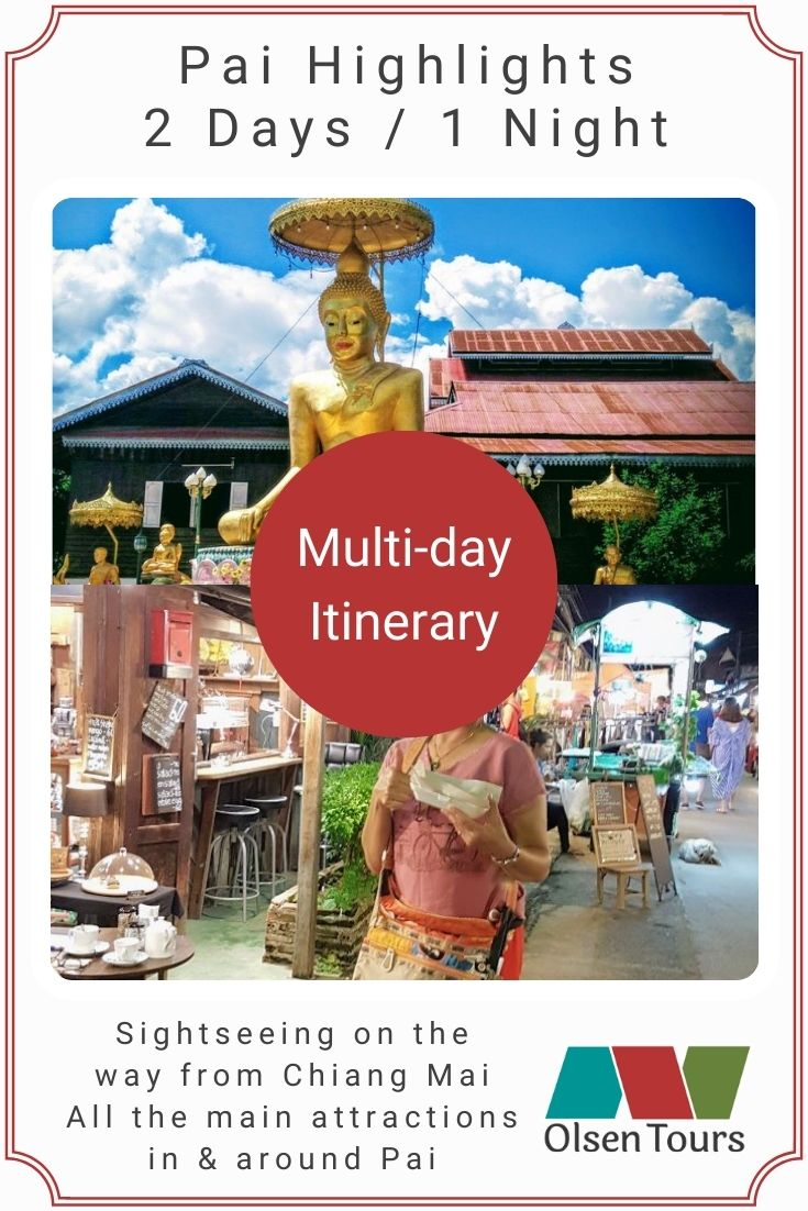 Pai Highlights Itinerary