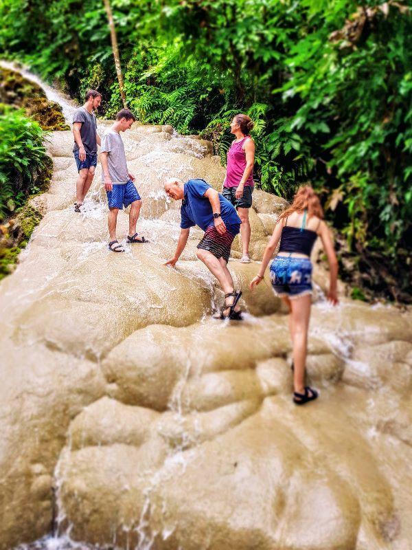 Sticky Waterfall Chiang Mai