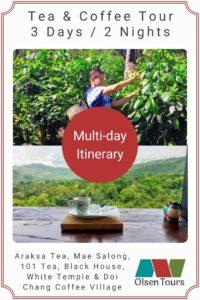 Tea & Coffee Grand Tour Itinerary