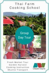 Thai Farm Cooking School Group Tour