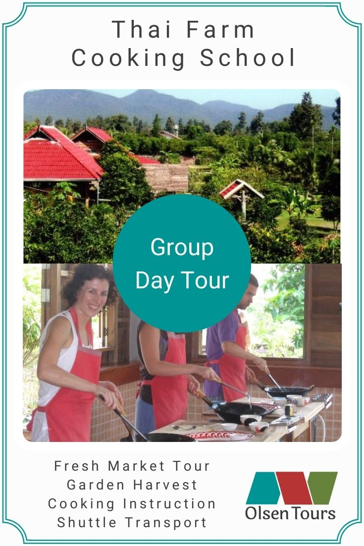 Thai Farm Cooking School Group Tour