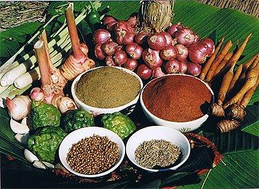 Thai Farm Cooking School - Herbs