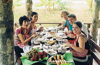 Thai Farm Cooking School - Lunch