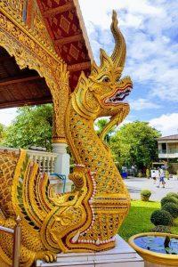 Wat Phra Singh - Naga