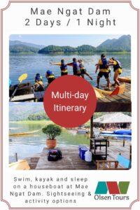 mae ngat dam itinerary