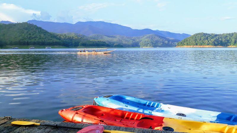 Mae Ngat Dam Lake