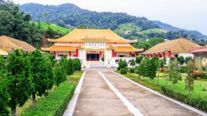 The Martyrs' Memorial Hall in Mae Salong
