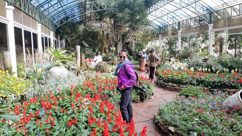 Bhubing Palace Greenhouse