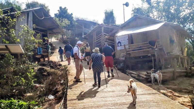 Ban Cha Cho Lahu Village in Chiang Rai