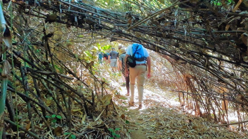 Trekking to Ban Cha Cho from Pasoet Hot Springs (Kok River)