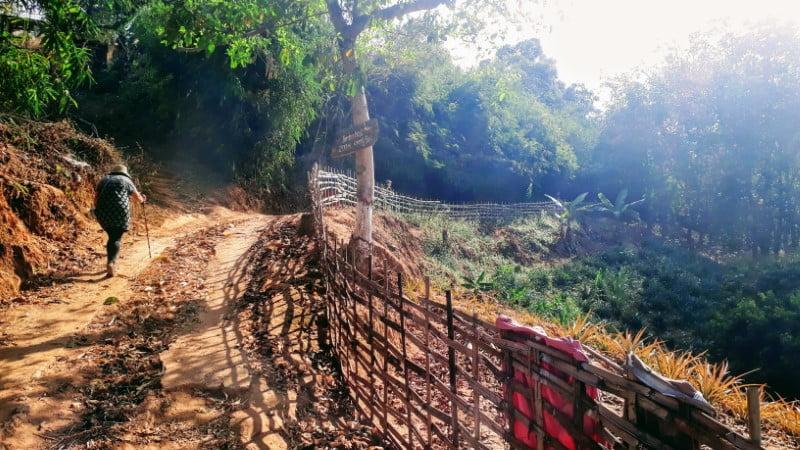 Trekking from Ban Cha Cho to Bamboo Nest de Chiang Rai