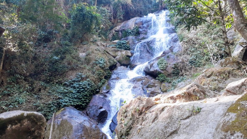 Huay Kaew Waterfall near Ban I-Ko Nam Tok, Chiang Rai