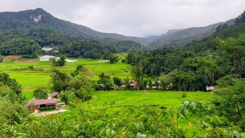 view at Mae Klang Luang Hill resort
