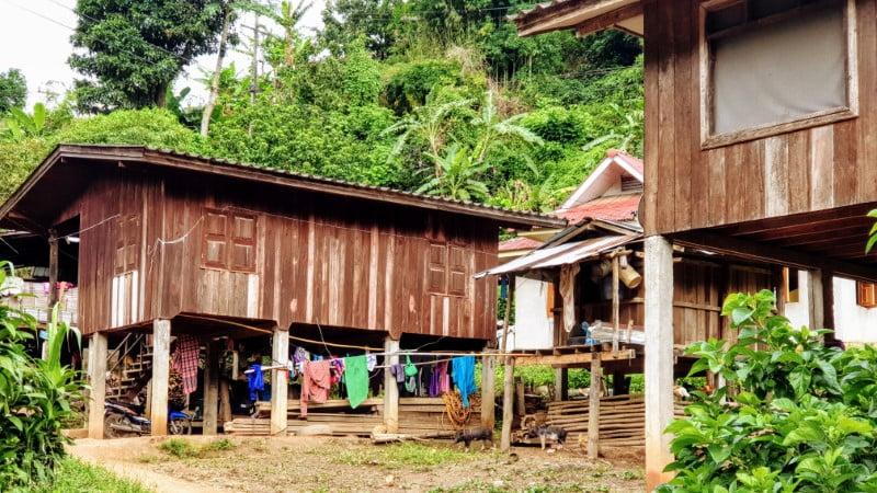 Mae Klang Luang Karen Village