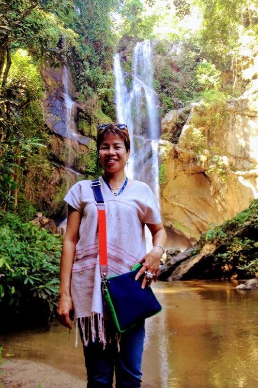 Mok Fa Waterfall in Chiang Mai